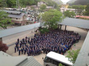 5月14日、磐栄ホールディングス株式会社のグループ各社から500名を超える社員が集合して安全大会を開催し、安全第一に対する誓いを新たに致しました。